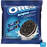 OREO Cookie On The Go Snack Packs Original Chocolate Biscuit with Vanilla Creme, 1.588 kg, 52 Snack Packs