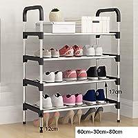 靴ラックシンプルな家庭用アセンブリのドアの寮の靴のキャビネットのストレージキャビネット経済的な防塵靴ラック(30cm * 60cm * 80cmmanual測定、わずかな誤差) (色 : C)
