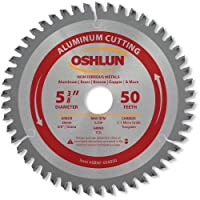 Oshlun SBNF-054050 5-3/8-Inch 50 Tooth TCG Saw Blade with 20mm Arbor (5/8-Inch and 10mm Bushings) for Aluminum and Non Ferrous Metals [並行輸入品]