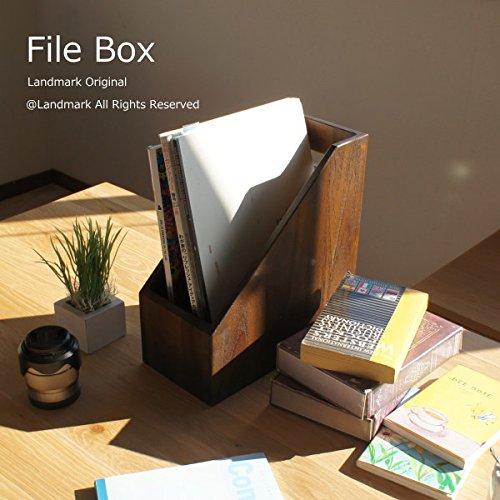 らんどまーく『チーク無垢 木製ファイルフォルダ(R033KA)』