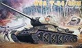 プラッツ 1/35 ベトナム戦争 北ベトナム軍 T-34/85M プラモデル DR3318