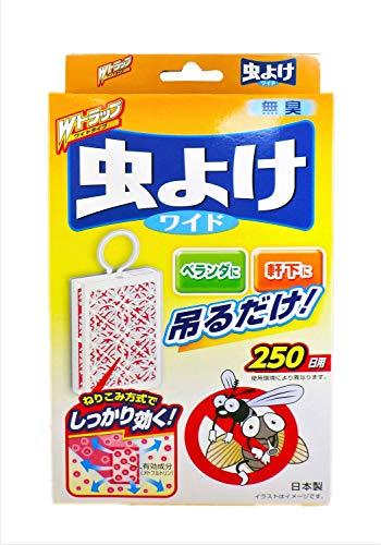 ダブルトラップ 虫よけ ワイド 250日用 無臭(1コ入)