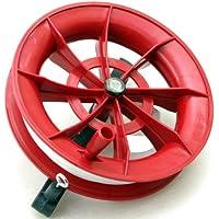 (ワンチャー) WANCHER 凧揚げ器具 カイトスポーツ ハンドル&凧糸つき直径約18cm kitelneREDBK