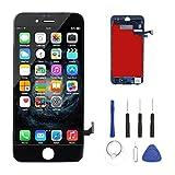 You Xin 液晶タッチパネル フロントガラス LCDパネル 修理工具付き for iPhone 7 (黒) [並行輸入品]