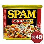 ホーメル スパム(SPAM) ホット&スパイシー 48缶セット