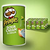 Pringles Sour Cream & Onion, 12 Pack (12 x 53g)