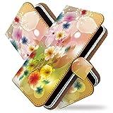 KEIO ケイオー isai LGL22 カバー 手帳型ケース 花 LGL 22 手帳 花柄 isai LGL22 ケース 手帳型 水彩 フラワー カラフル イサイ ittn水彩フラワーカラフルt0188