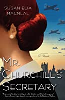 Mr. Churchill's Secretary (Kennebec Large Print Superior Collection)