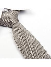 ainowビジネススマートカジュアル男性用細身ニットネクタイネクタイ–さまざまな色