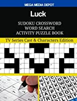Luck Sudoku Crossword Word Search Activity Puzzle Book