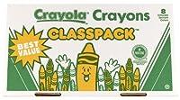 Crayola 400ct Large Size Crayon Classpack 8 colors (52-8038) [並行輸入品]