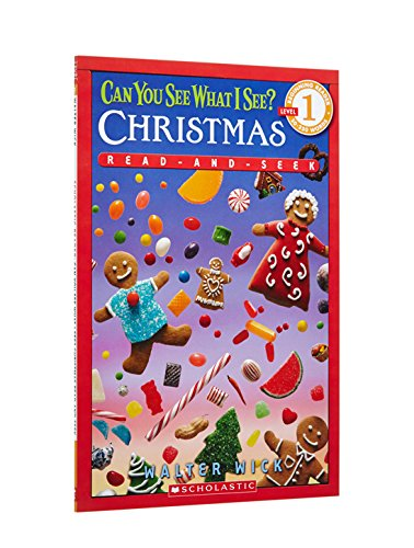 Can You See What I See? Christmas Read-and-Seek (Scholastic Readers; Beginning Reader 50-250 Words Level 1)の詳細を見る
