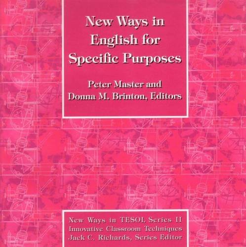 Download New Ways in English for Specific Purposes (New Ways in Tesol Series II) 0939791498