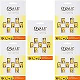 Ovale オーバル フェイシャル美容液 essential vitamin エッセンシャルビタミン 7粒入シート×5枚セット サンフラワー [海外直送品]