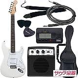 SELDER セルダー エレキギター ストラトキャスタータイプ サクラ楽器オリジナル ST-16/WH 初心者入門ベーシックセット