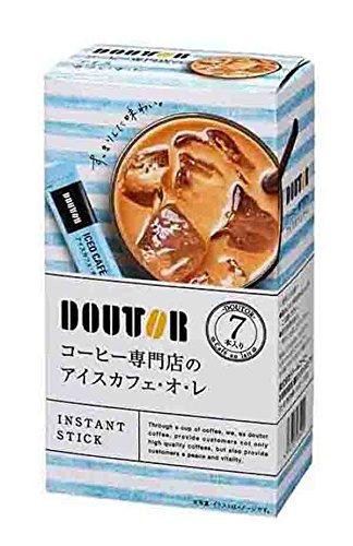 ドトール ドトールコーヒー コーヒー専門店のアイスカフェ・オ・レ 1セット(42本: 7本×6箱)