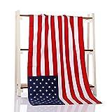 NSD インテリにも使える国旗バスタオル アメリカ イギリス カナダ (アメリカ)