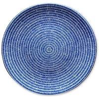 Arabia アラビア フィンランド北欧食器 24h アベック ブルー 20cm プレート 皿 食器 8284 (並行輸入品)