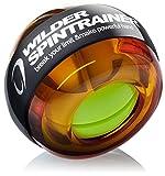 WILDER リストトレーナー 握力 リストボール 前腕 筋トレグッズ 手首トレーニング ボール ボルダリング (オレンジ)