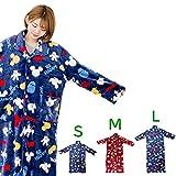 着る毛布 ディズニー 契約商品 マイクロファイバー毛布で製造 あったか着る毛布 着丈160cm