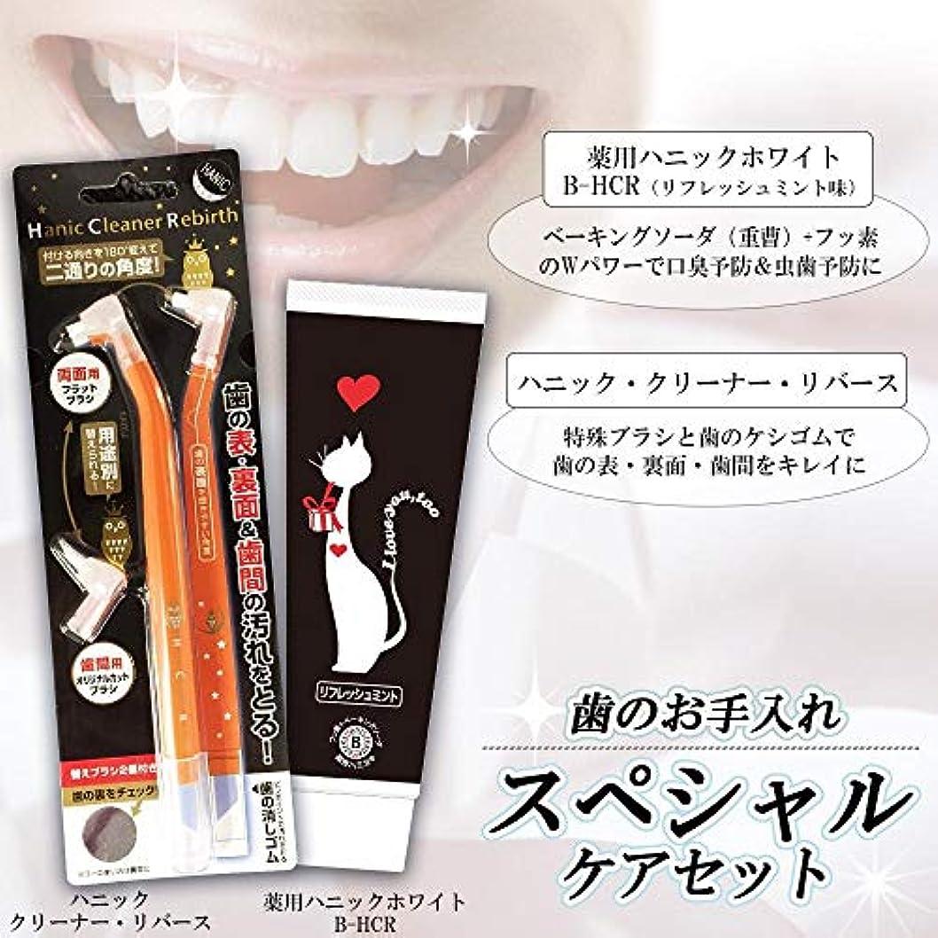 空白複合滑りやすい歯のお手入れ スペシャルケアセット