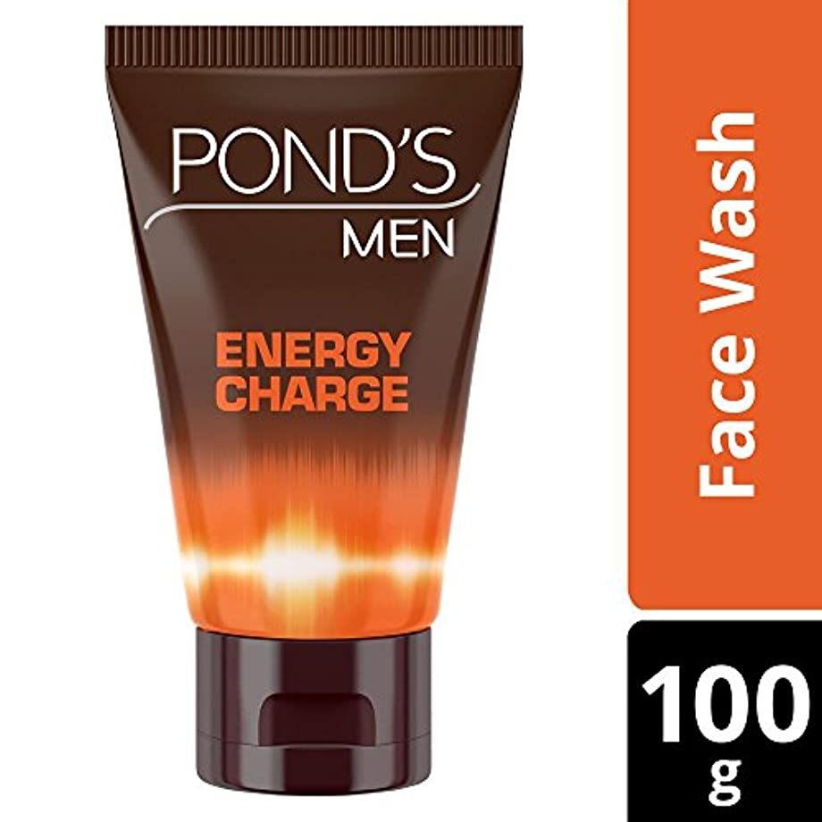 母音朝冒険者POND'S Ponds Men Energy Charge Face Wash, 100g