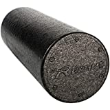 REEHUT Foam Roller - Firm High Density Muscle Rollers with Free User E-Book (12 Inches 18 Inches 24 Inches & 36 Inches)