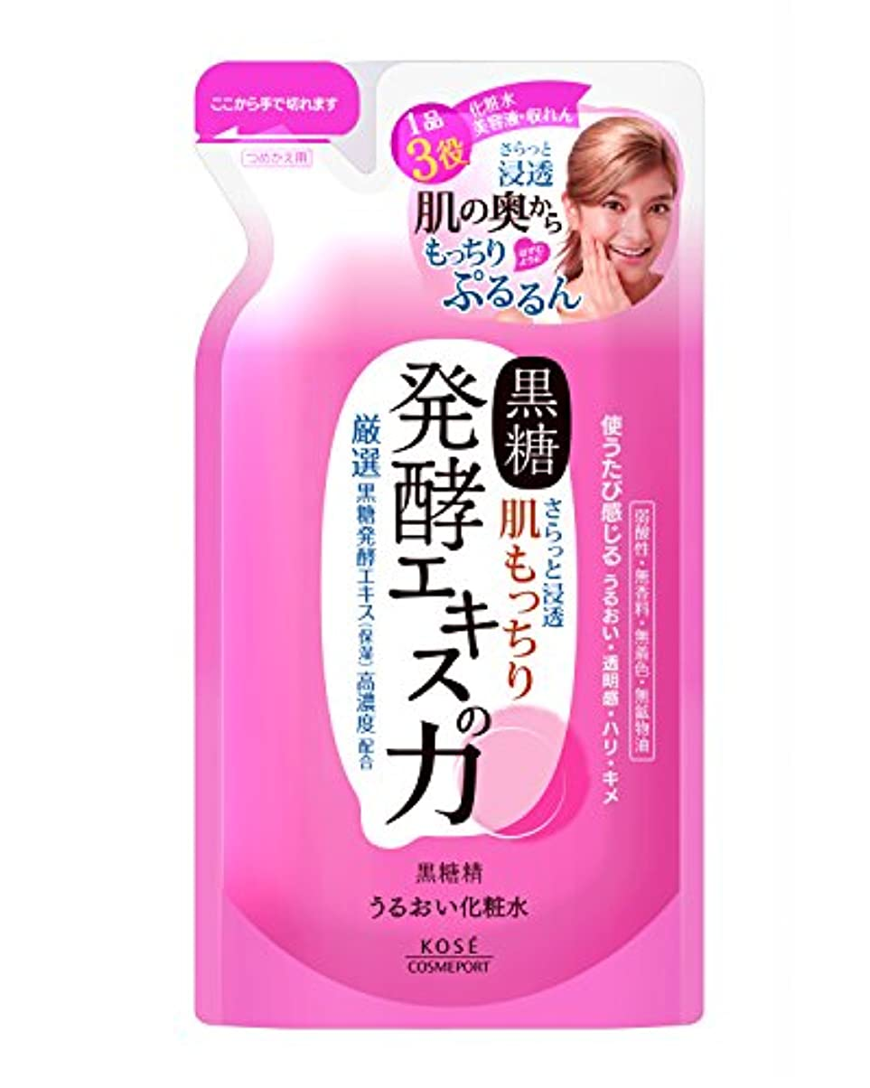 けがをする線に対してKOSE コーセー 黒糖精 うるおい化粧水  つめかえ 160ml