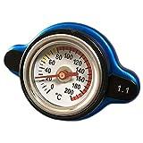 Discover winds 水温が一目でわかる!水温計付 ラジエター キャップ 交換 カスタム ドレスアップ 1.1k