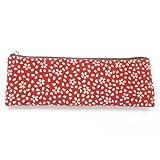 NEWSTONE ニューストーン ■男女兼用念珠袋・数珠袋■ペンケース型■印伝調■さくら(赤・白)