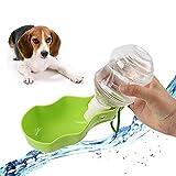 Gifty ドッグ 給水 ボトル カップ付き 犬 猫 水やり 水筒 給水器 ウォーターボトル 折り畳む お散歩 ペット用品 (S 250ML)