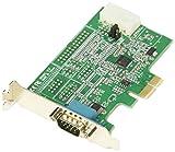 StarTech.com RS232Cシリアル1ポート増設PCIeカード 16950 UART 標準&ロープロファイルに対応 921.4kbps Windows/Linux対応 PEX1S953LP