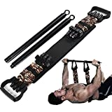 HORKEY Resistance Bands with Detachable Bar, Chest Workout Equipment Adjustable Push Up Resistance Bands Max Load 800lb, Ches
