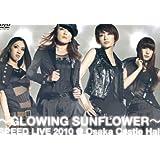 GLOWING SUNFLOWER SPEED LIVE 2010@大阪城ホール [DVD]