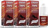 電子タバコ リキッド 5ml 3本セット (GROVY VAPE) (レッドブル 5ml 3本セット)