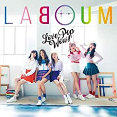 LABOUM「Love is the magic」のジャケット画像