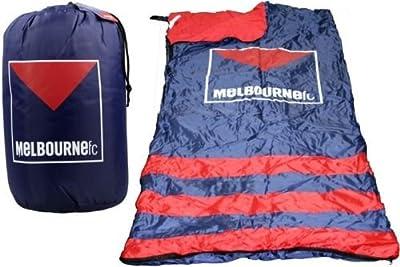 AFL Licensed Sleeping Bag - Melbourne Demons - 170cm x 45cm