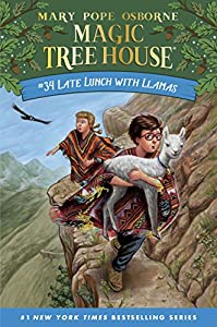Late Lunch with Llamas (Magic Tree House (R) Book 34) (English Edition)