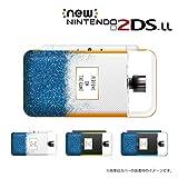 New ニンテンドー 2DS LL 対応 カバー ケース 香水 perfume 青色 メタルキャップ