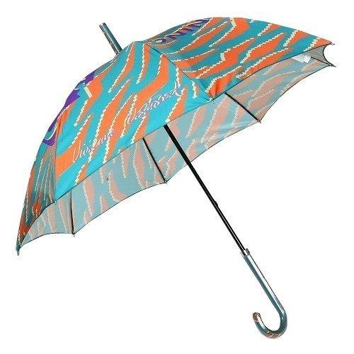【Vivienne Westwood】ヴィヴィアンウエストウッド 「ブラッドリーマニング」シャドウタイガー 婦人長傘(雨傘) 緑