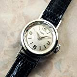 TUDOR チュードル レディースウォッチ カットガラス ラウンドケース 3-6-9-12インデックス 1965年 アンティーク 時計 [並行輸入品]