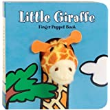 Little Giraffe: Finger Puppet Book: (Finger Puppet Book for Toddlers and Babies, Baby Books for First Year, Animal Finger Pup