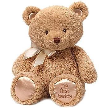 Amazon gund my first teddy bear baby stuffed animal 15 inches gund my first teddy bear baby stuffed animal 15 inches by gund voltagebd Gallery