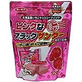 有楽製菓 北海道限定 ピンクなブラックサンダー プレミアムいちご味 ミニ(13.1g×12個)