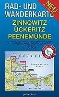 Zinnowitz, Ueckeritz, Peenemuende 1 : 30 000 Rad- und Wanderkarte: Mit Karlshagen, Trassenheide, Zempin, Koserow, Loddin-Koelpinsee, Wolgast, Luetow
