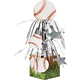 Creative Converting Sports Fanatic Mini Cascade Centerpiece with Base Baseball