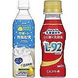 【セット買い】守る働く乳酸菌 L-92 100ml×30本 + アサヒ飲料 「はたらくアタマに/サポートカルピス」 500ml ×24本