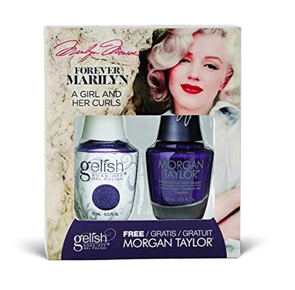 飢饉世界記録のギネスブック口述Harmony Gelish - Two of a Kind - Forever Marilyn Fall 2019 Collection - A Girl And Her Curls - 15ml / 0.5oz
