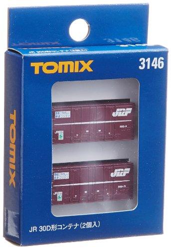 TOMIX Nゲージ 3146 30D形コンテナ (2個入)