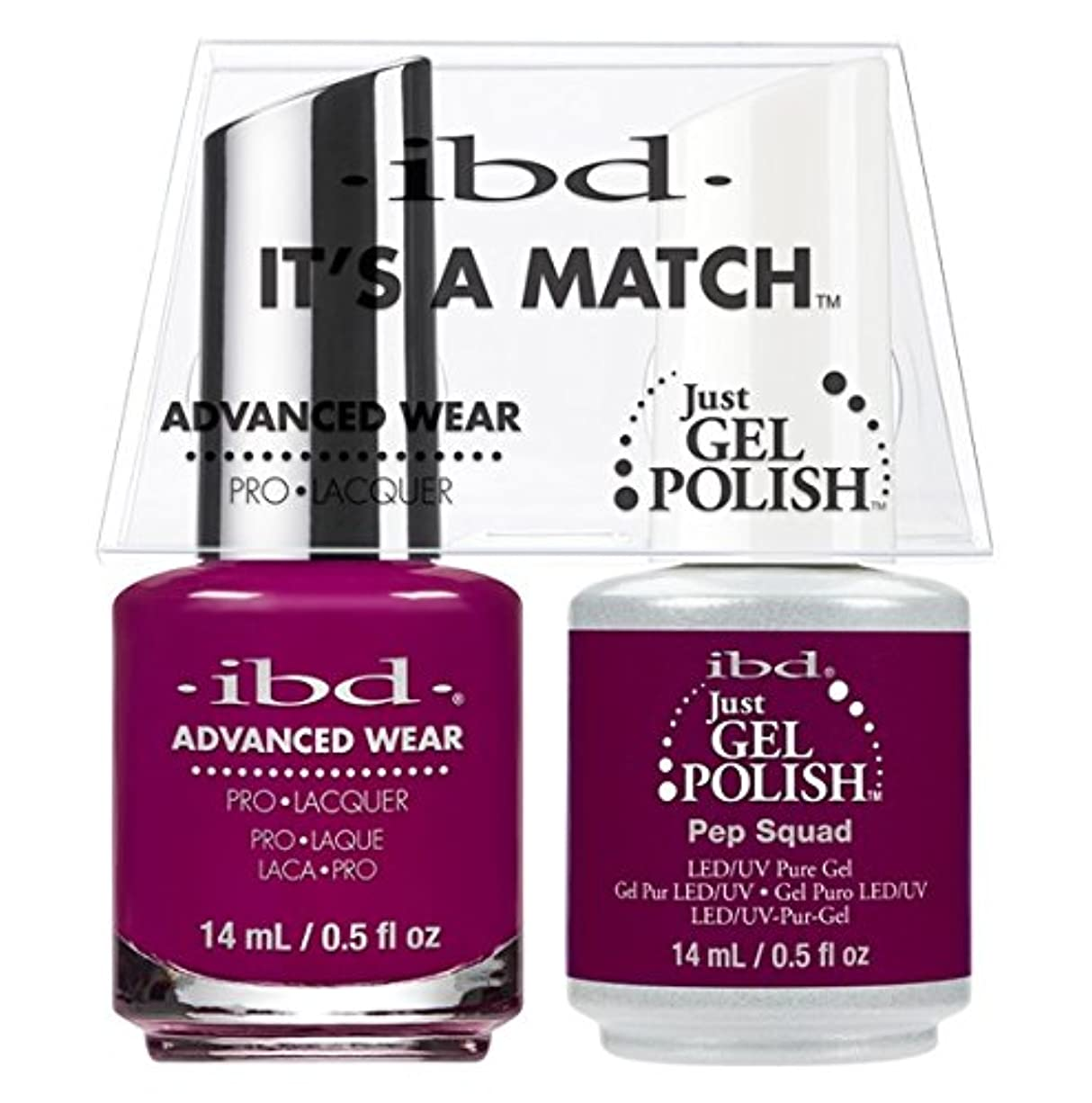 憎しみ現象同行ibd - It's A Match -Duo Pack- Pep Squad - 14 mL / 0.5 oz Each